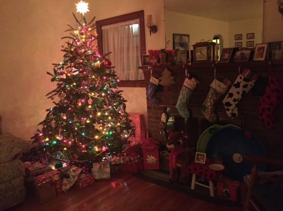 After Santa stopped by