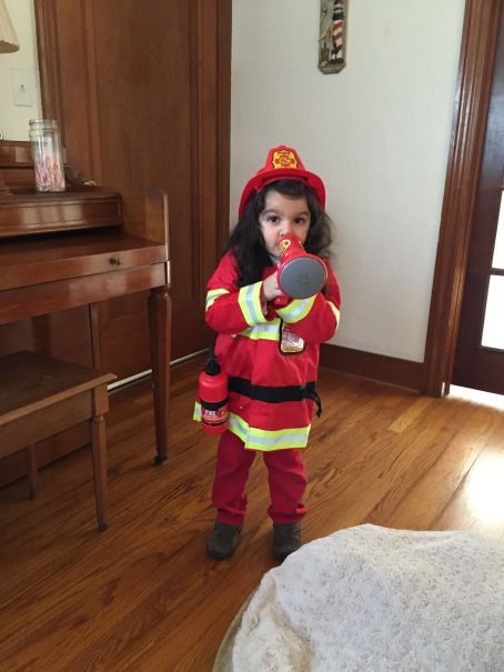 Firefighter Annelise